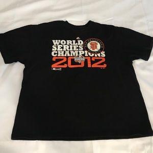 San Francisco World Series Champions T-shirt